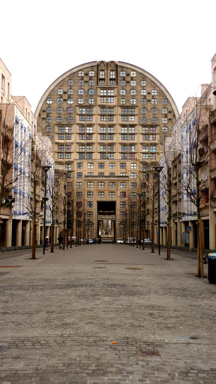 Noisy Le Grand Architecture a walk in noisy-le-grand