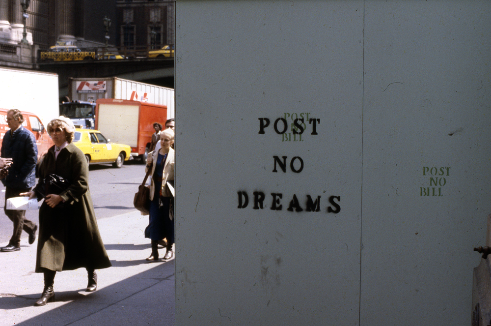 Post no dreams